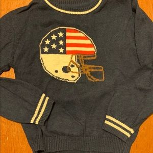 NWOT American Boys football sweater